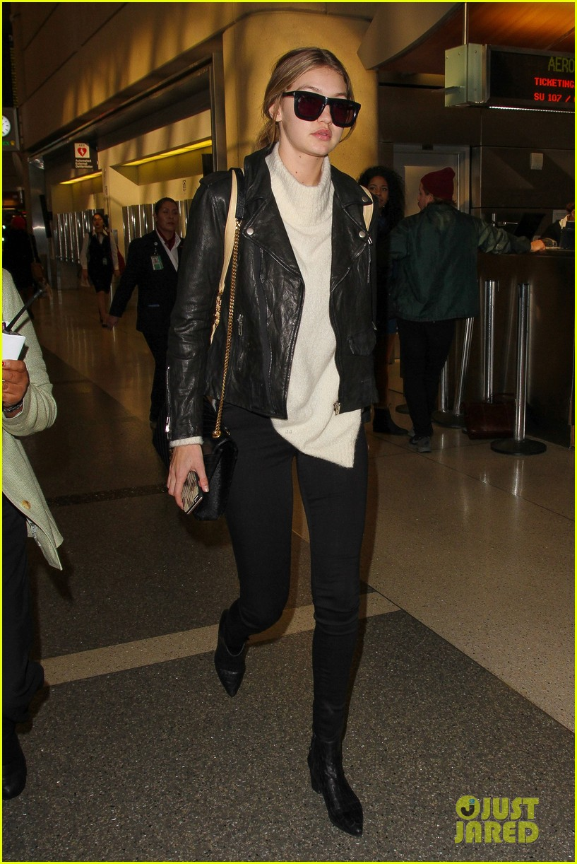 gigi hadid masterchef devon windsor lax airport 14