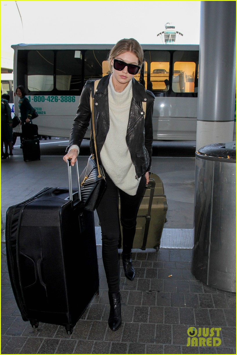 gigi hadid masterchef devon windsor lax airport 16
