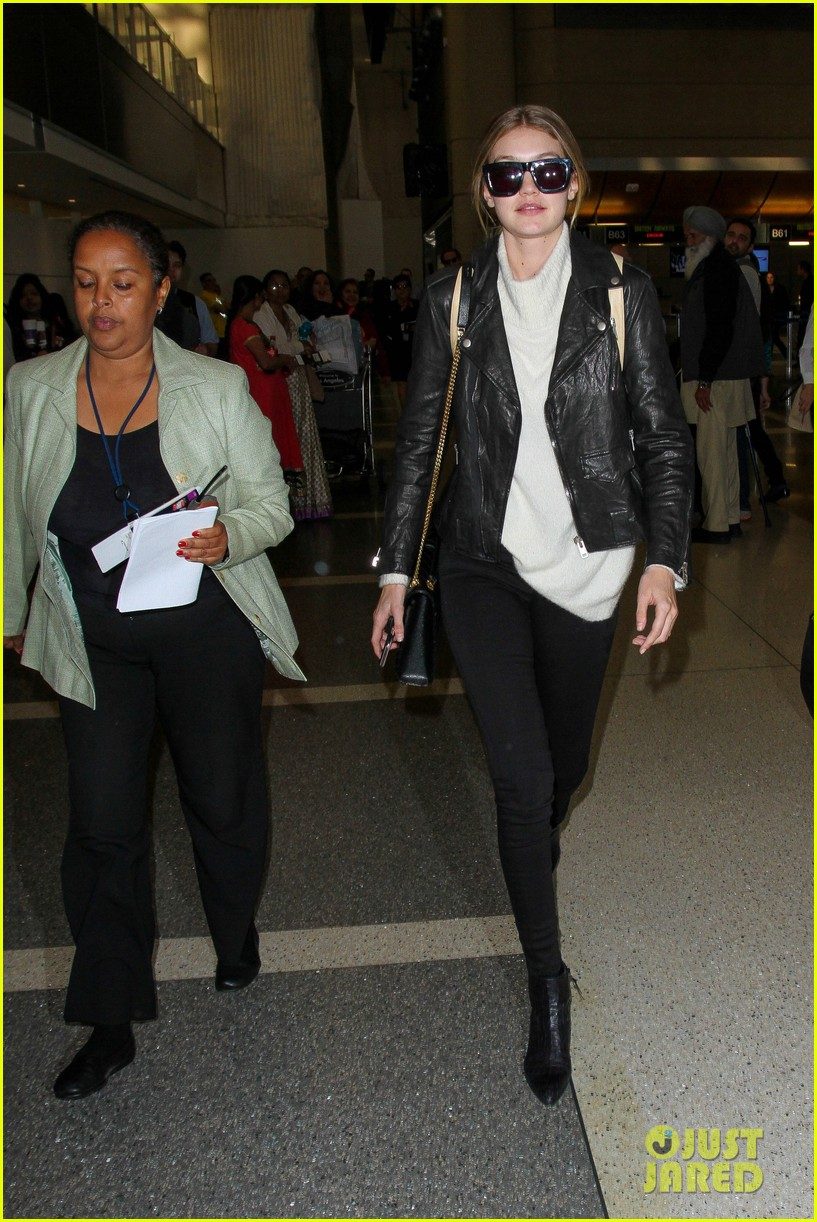 gigi hadid masterchef devon windsor lax airport 21