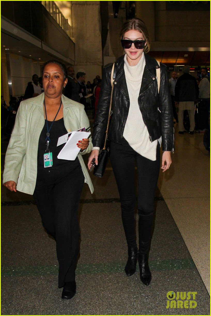 gigi hadid masterchef devon windsor lax airport 22