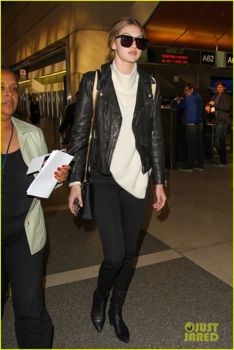 gigi hadid masterchef devon windsor lax airport 23