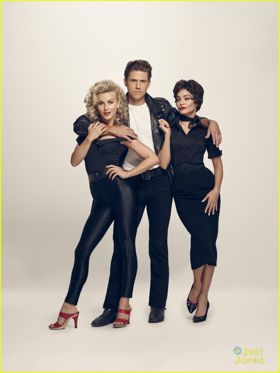 julianne hough aaron tveit grease promo look 01