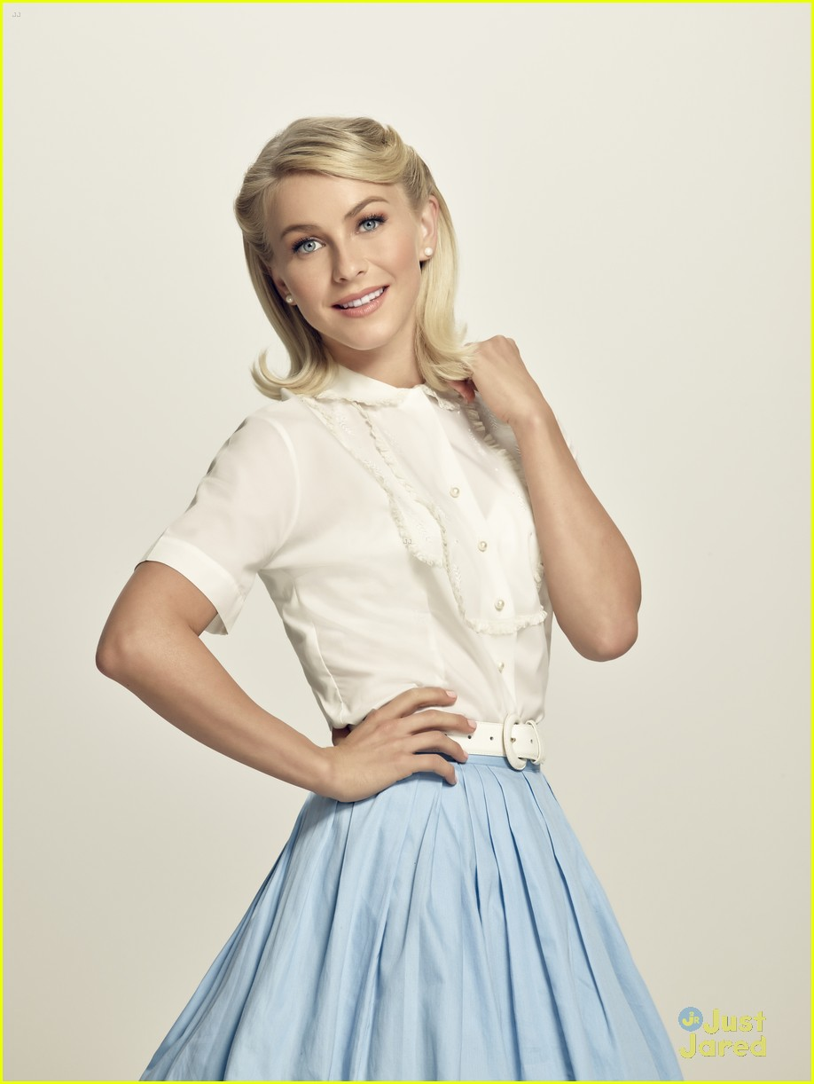 julianne hough aaron tveit grease promo look 03