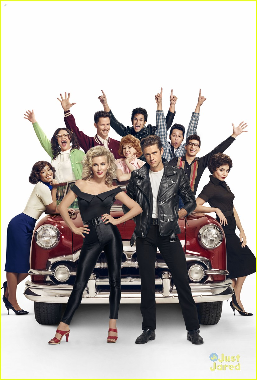 julianne hough aaron tveit grease promo look 04
