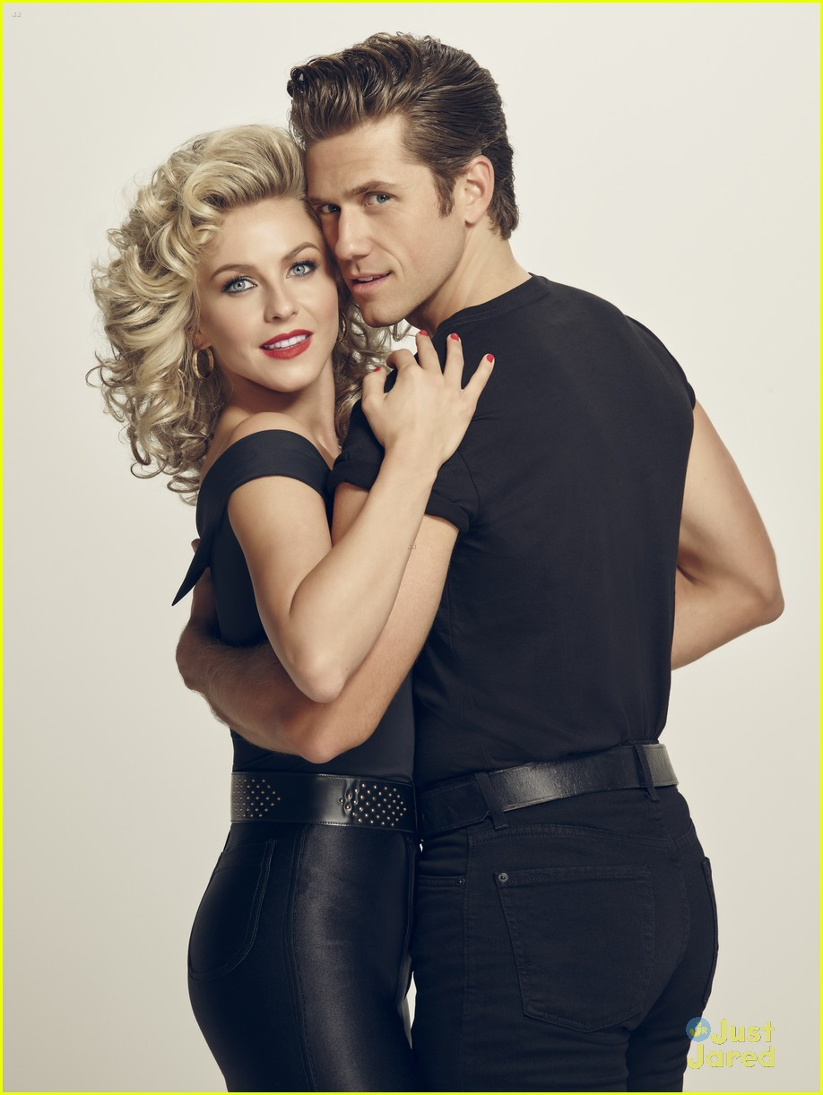 julianne hough aaron tveit grease promo look 13