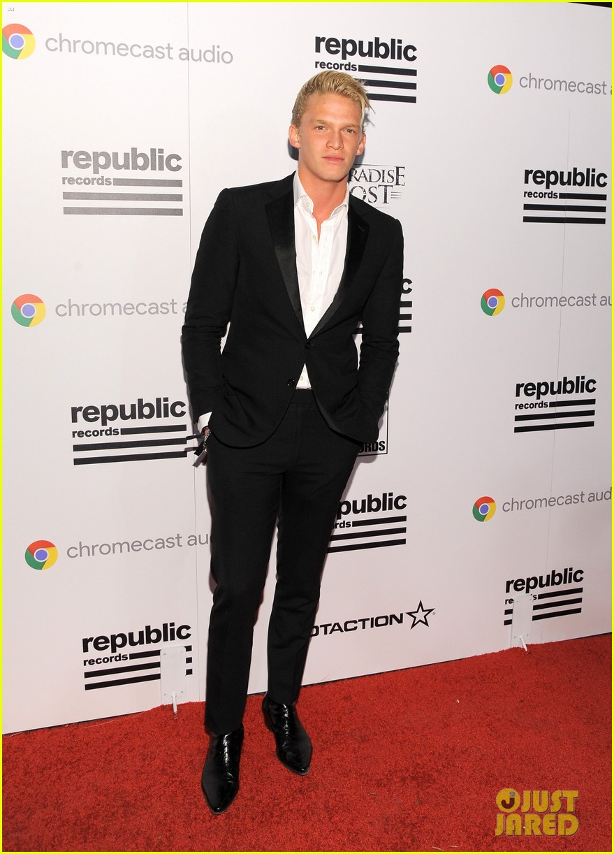 cody alli simpson 2016 grammys party 15