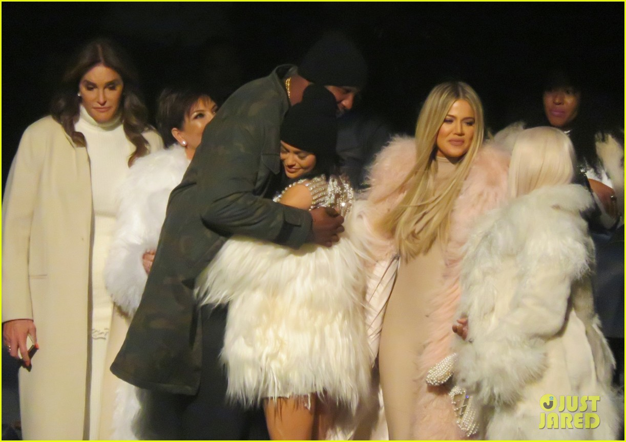 00c72d0699 Kendall   Kylie Jenner Join Kardashian Sisters at Yeezy Season 3 ...