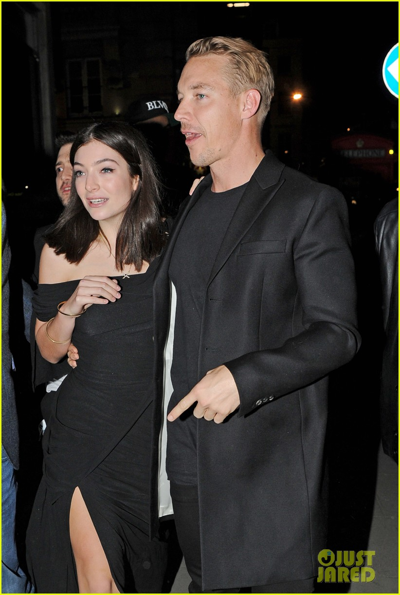lorde holds hands diplo brit awards party 04