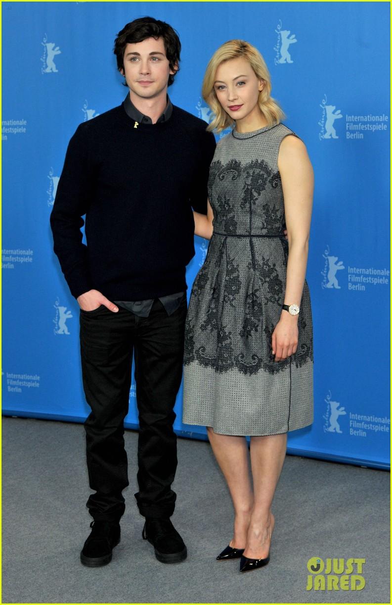 Logan Lerman Brings Indignation To Berlin With Sarah Gadon Photo
