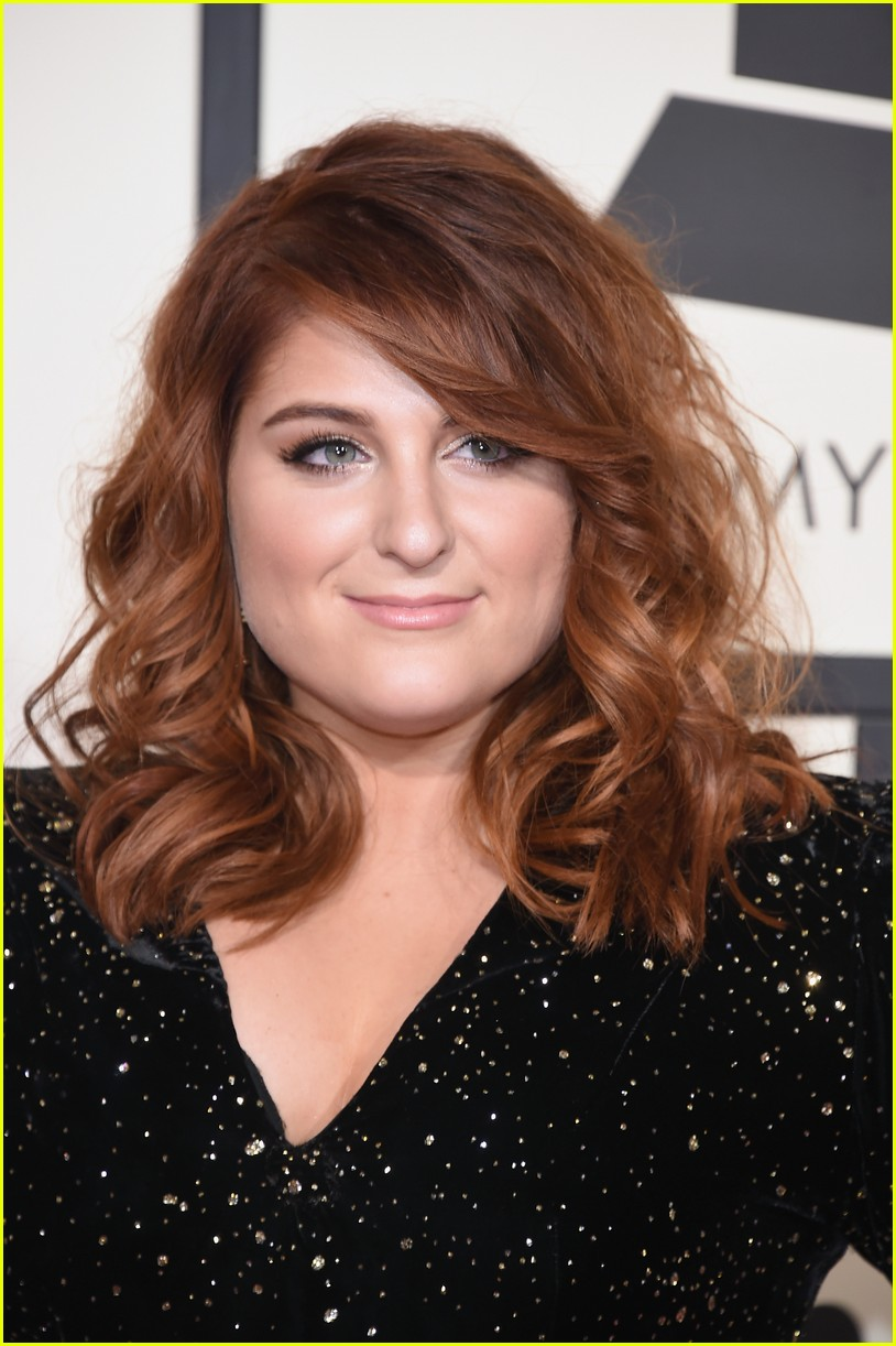 meghan trainor grammys arrival 02
