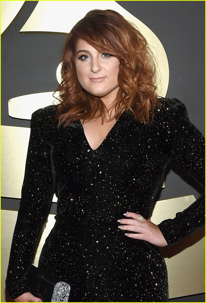 meghan trainor grammys arrival 06