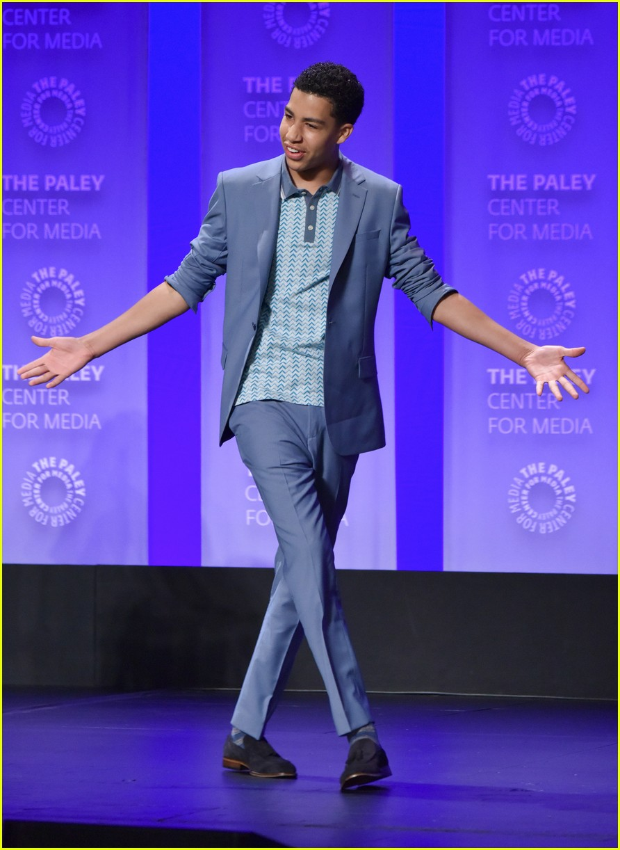 blackish cast paleyfest panel 01