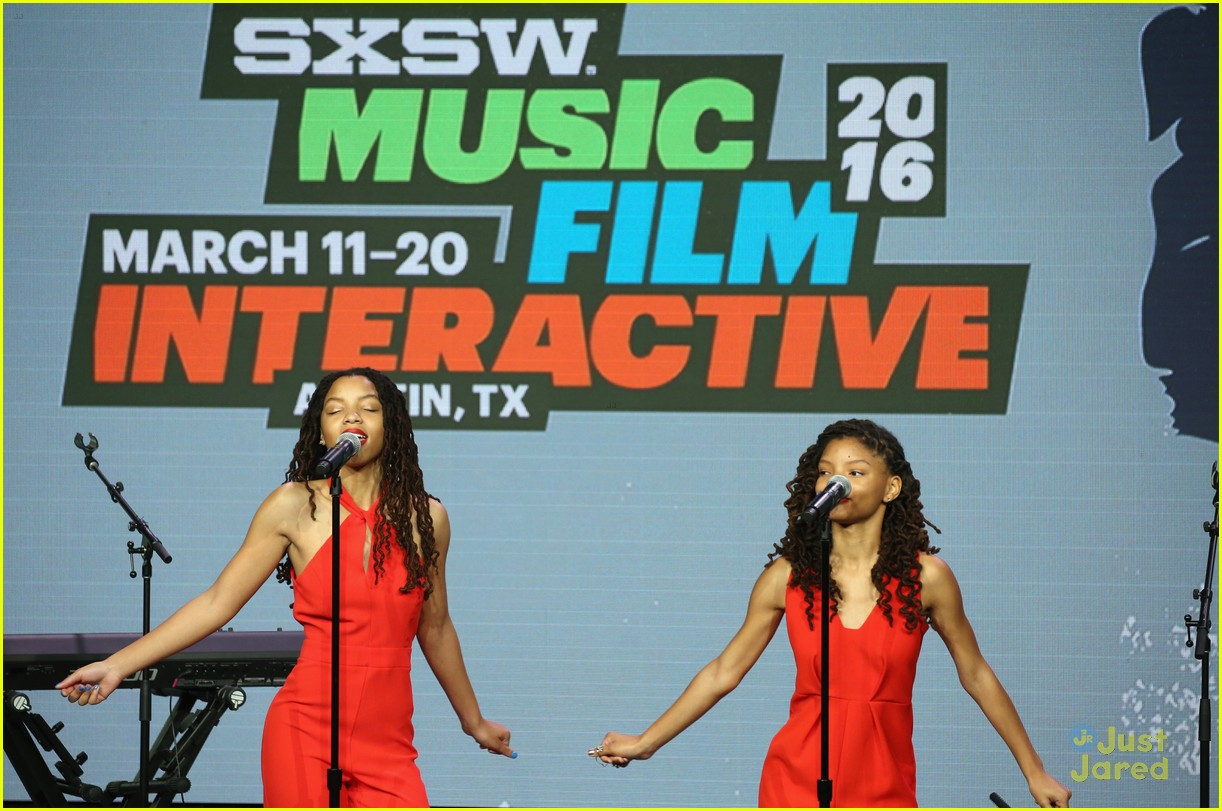 chloe halle bailey let girls learn sxsw makers event 03