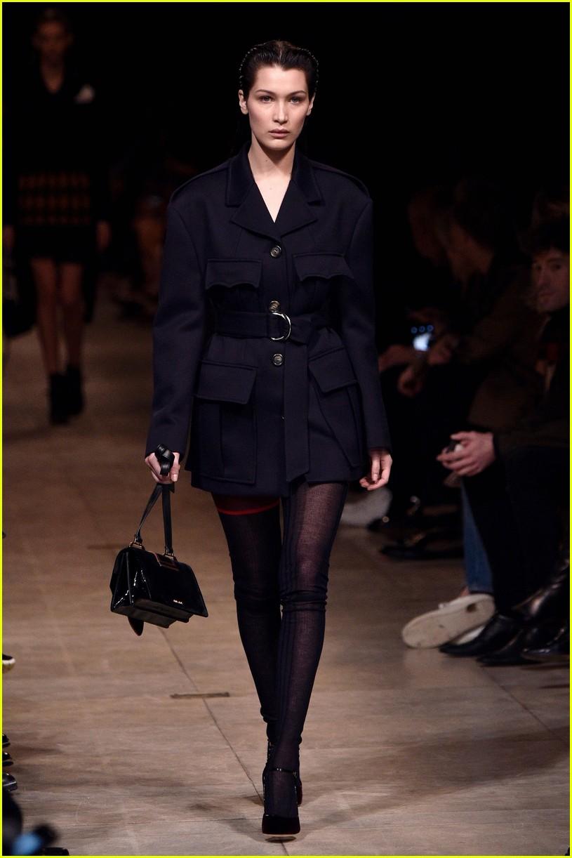 Watch Kendall jenner walks miu miu show paris fashion week video