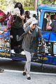 khloe kardashian kendall jenner kylie jenner disguise run from photographers 01