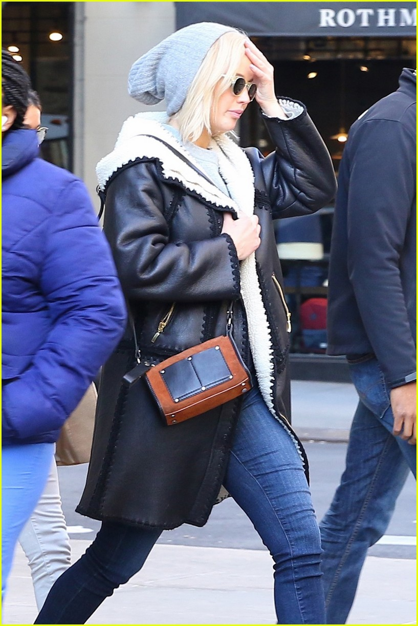 Jennifer Lawrences Bodyguard Justin Riblet is Very