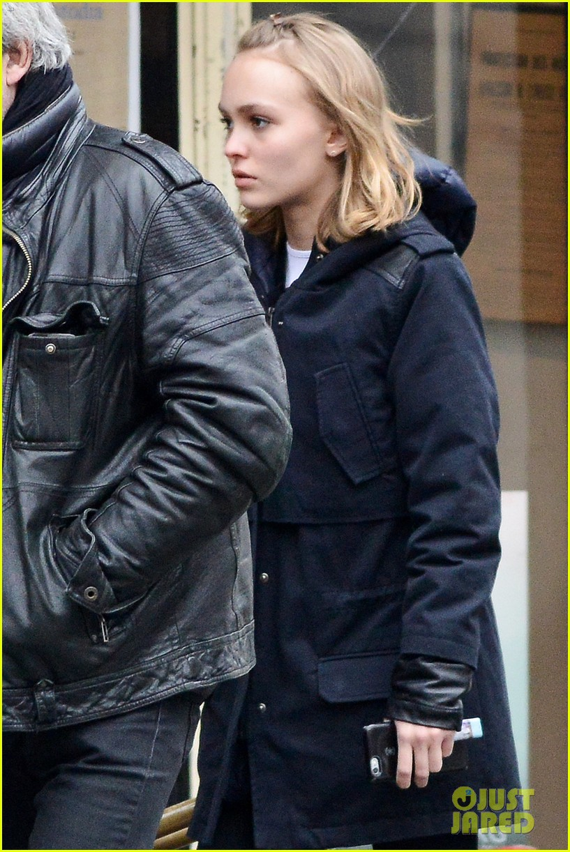 lily rose depp steps out with rumored boyfriend ash stymest 19