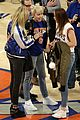 miley cyrus knicks game brandi courtside 16