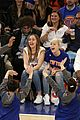 miley cyrus knicks game brandi courtside 18