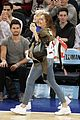 miley cyrus knicks game brandi courtside 20