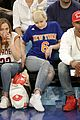 miley cyrus knicks game brandi courtside 23