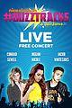 buzztracks live concert announce sor cast 00