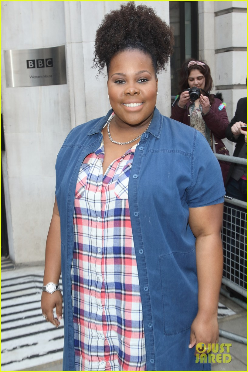 amber riley bbc studio talks dreamgirls audition 02