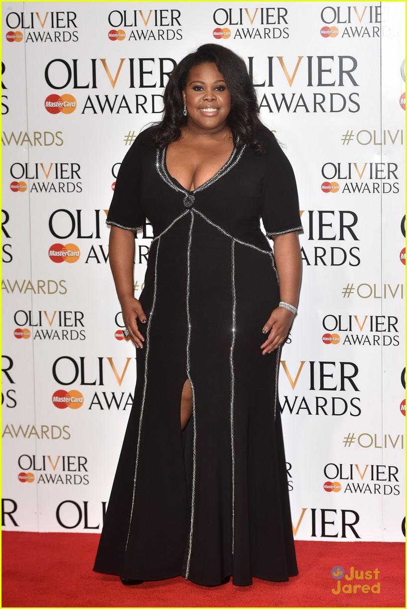 amber riley laura carmichael olivier awards london 11