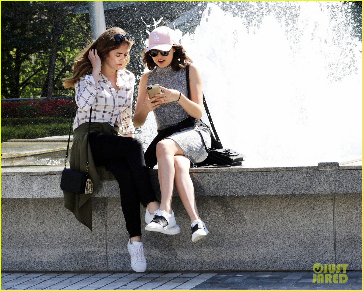bailee madison mckaley miller sightseeing vancouver 02