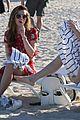 bella thorne hits beach sister dani gregg congrats tweet 18