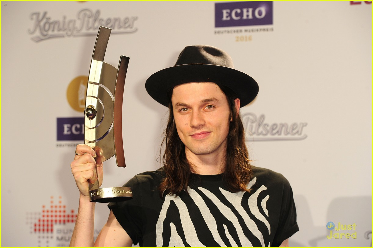james bay echo awards winner best newcomer 12
