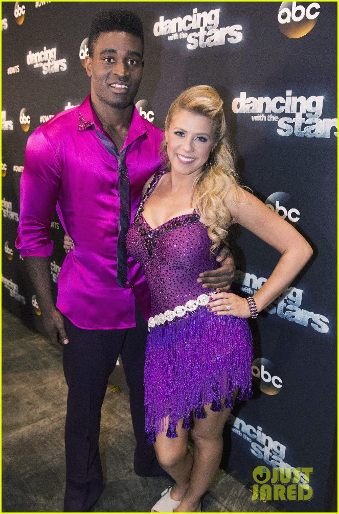 Jodie Sweetin Says Judges Were Pretty Fair In Disney Night Scoring Photo 955420 Dancing With The Stars Jodie Sweetin Keo Motsepe Pictures Just Jared Jr