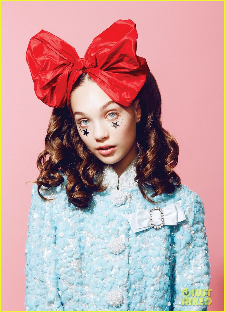 Maddie Ziegler Loves Experimenting With Makeup | Photo