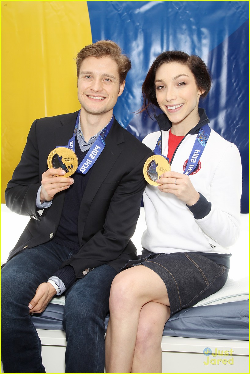 meryl davis charlie white discuss returning to competition airweave road rio event 05