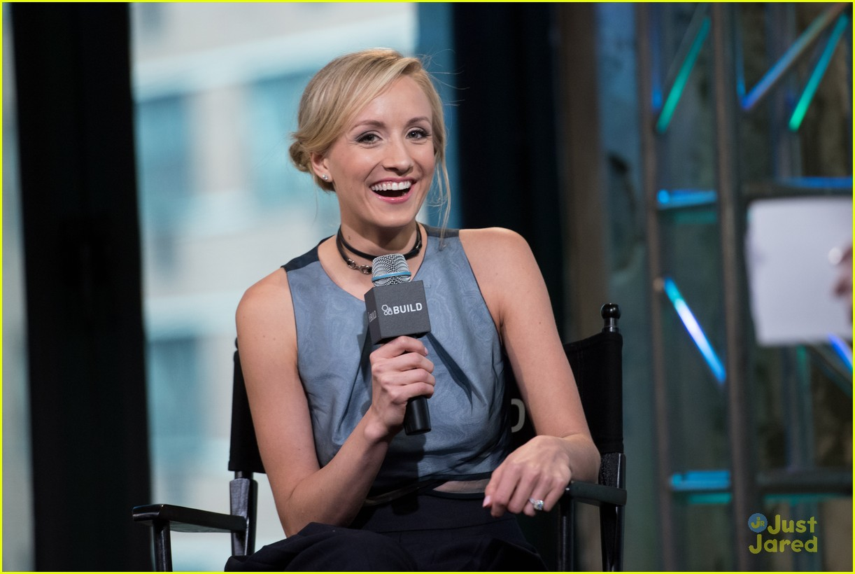 nastia liukin aol build garden gala 01