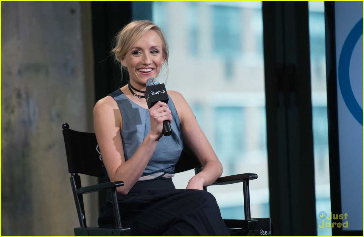 nastia liukin aol build garden gala 09