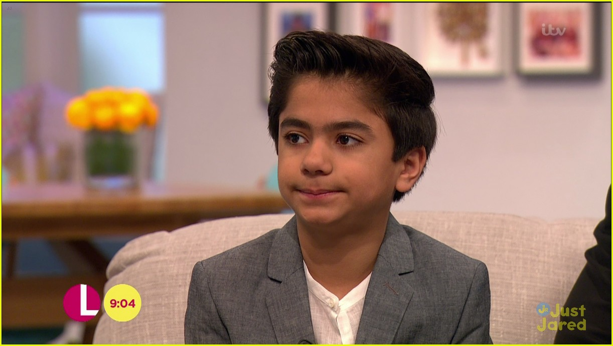 neel sethi itv appearance jungle book soundtrack stream 14