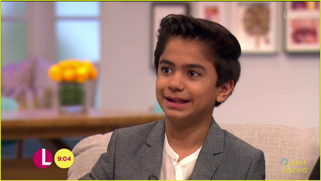 neel sethi itv appearance jungle book soundtrack stream 16