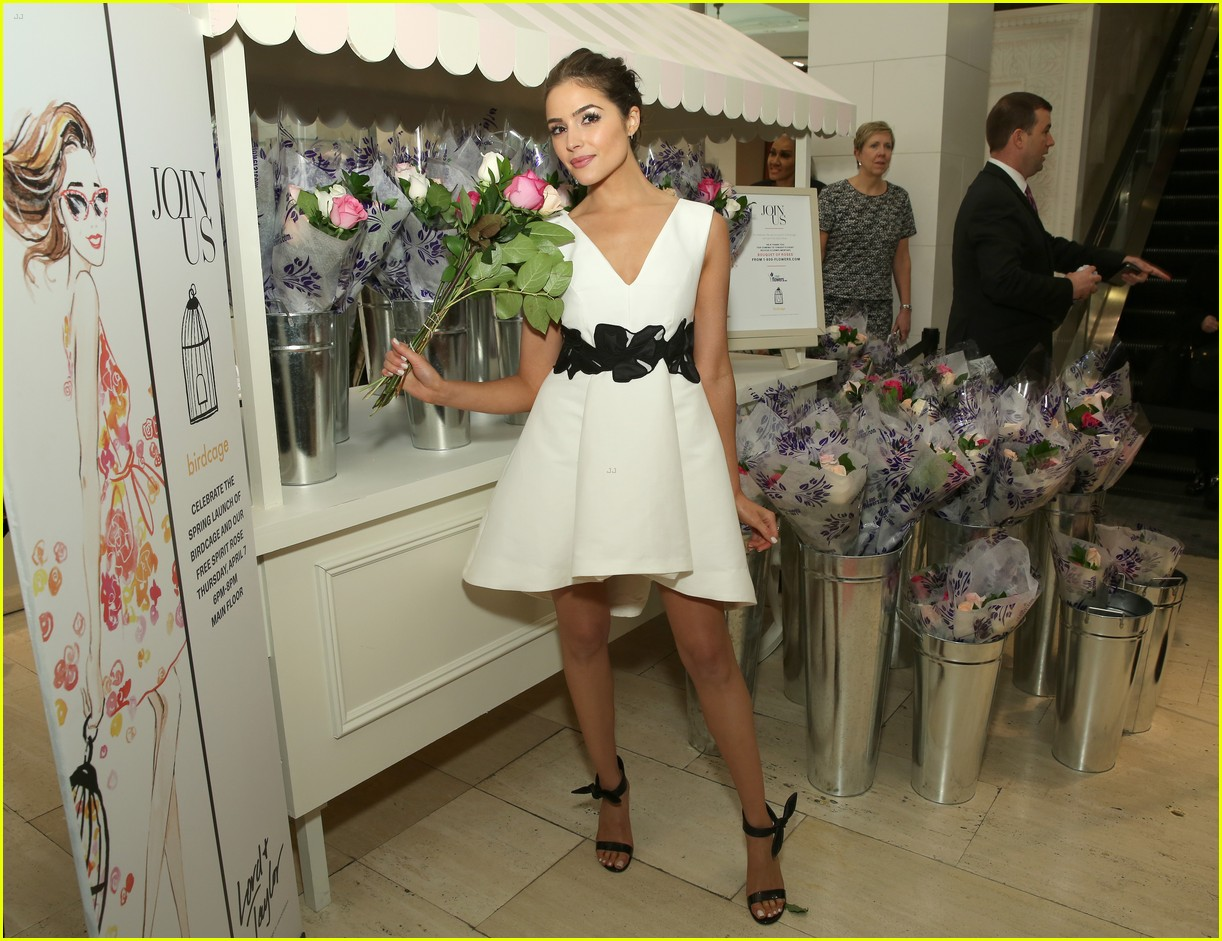 olivia culpo elle winter birdcage event lord taylor nyc 13