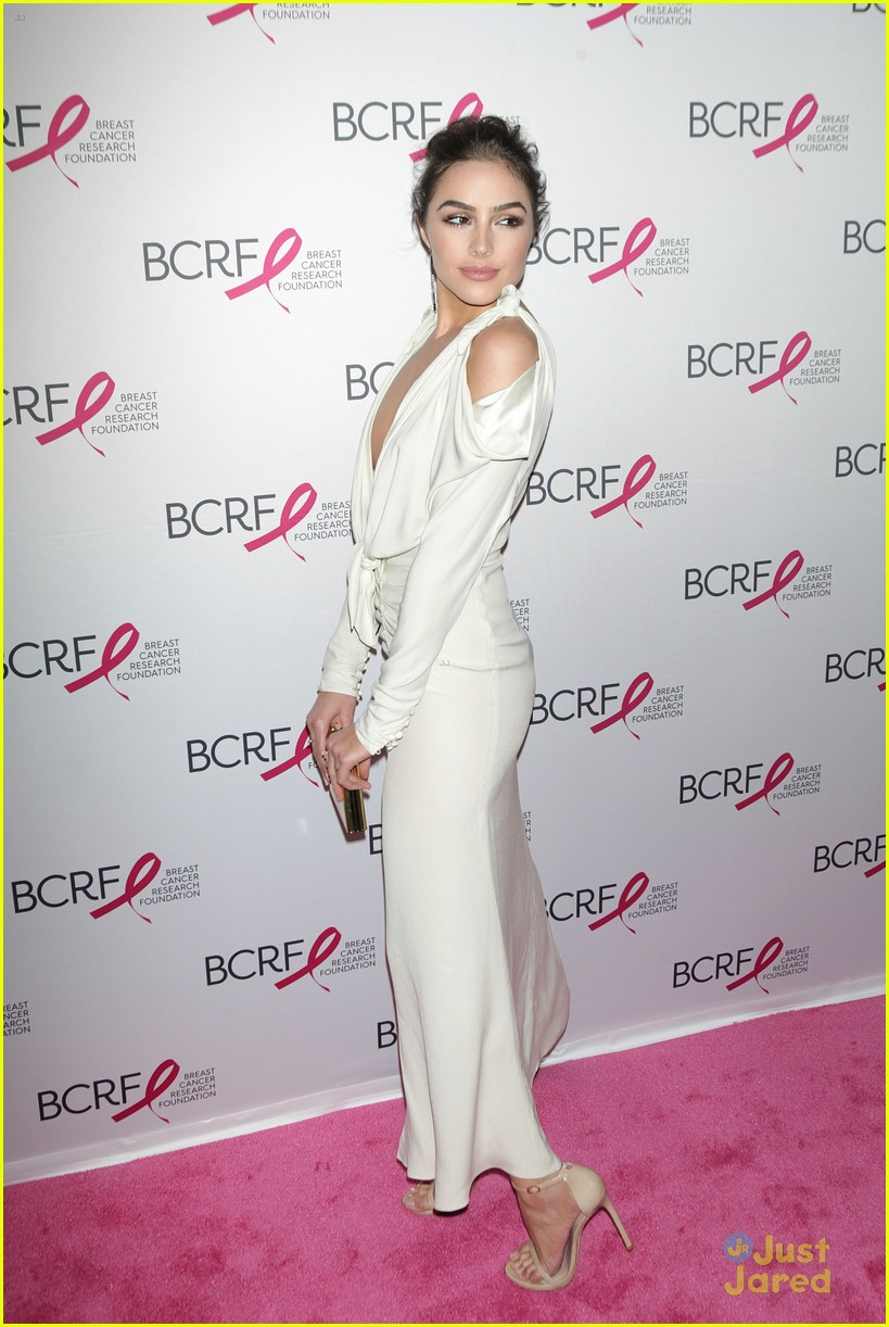 olivia culpo breast cancer gala pbj bfast recipe 06