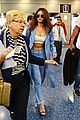 selena gomez miami airport flight out 17