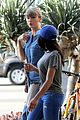 taylor swift demin outfit out with friend 01