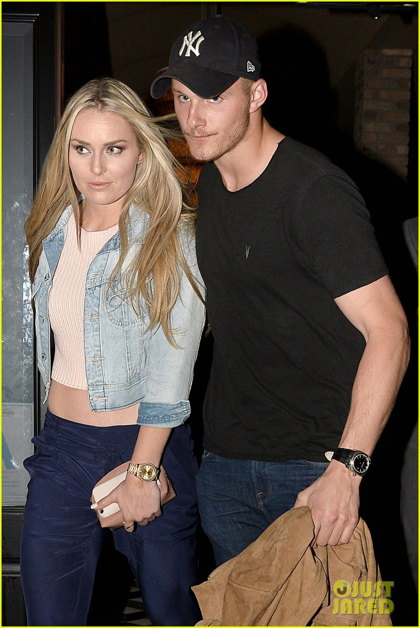 lindsey vonn alexander ludwig spotted on dinner date 02