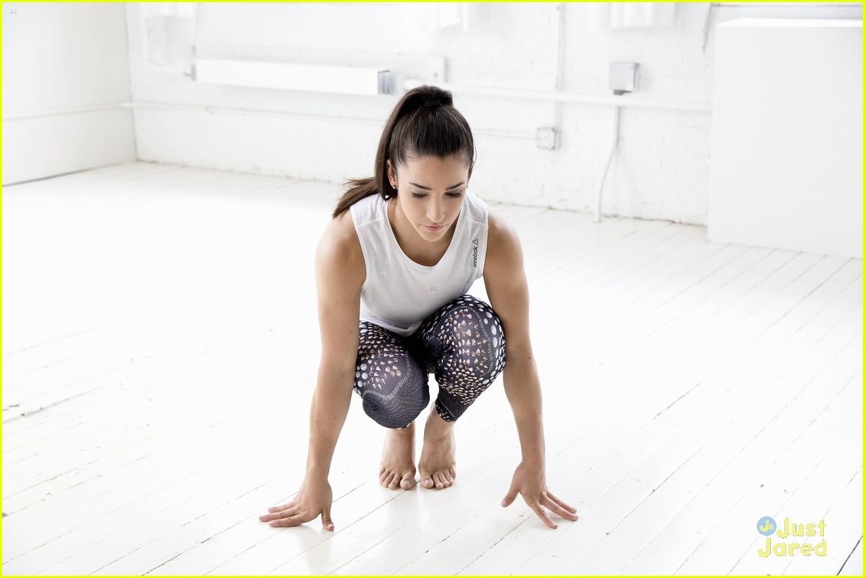90222e4300ddef Gymnast Aly Raisman Promotes Body Positivity   Acceptance With ...