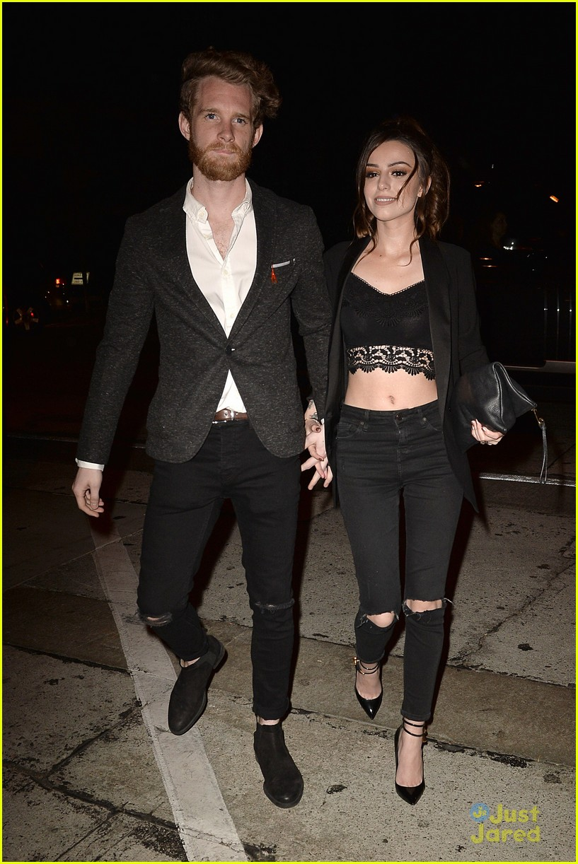 Cher Lloyd Craig Monk Make It A Date Night Out In La Photo