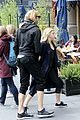 chloe moretz mermaid flipping on head out nyc workout 05