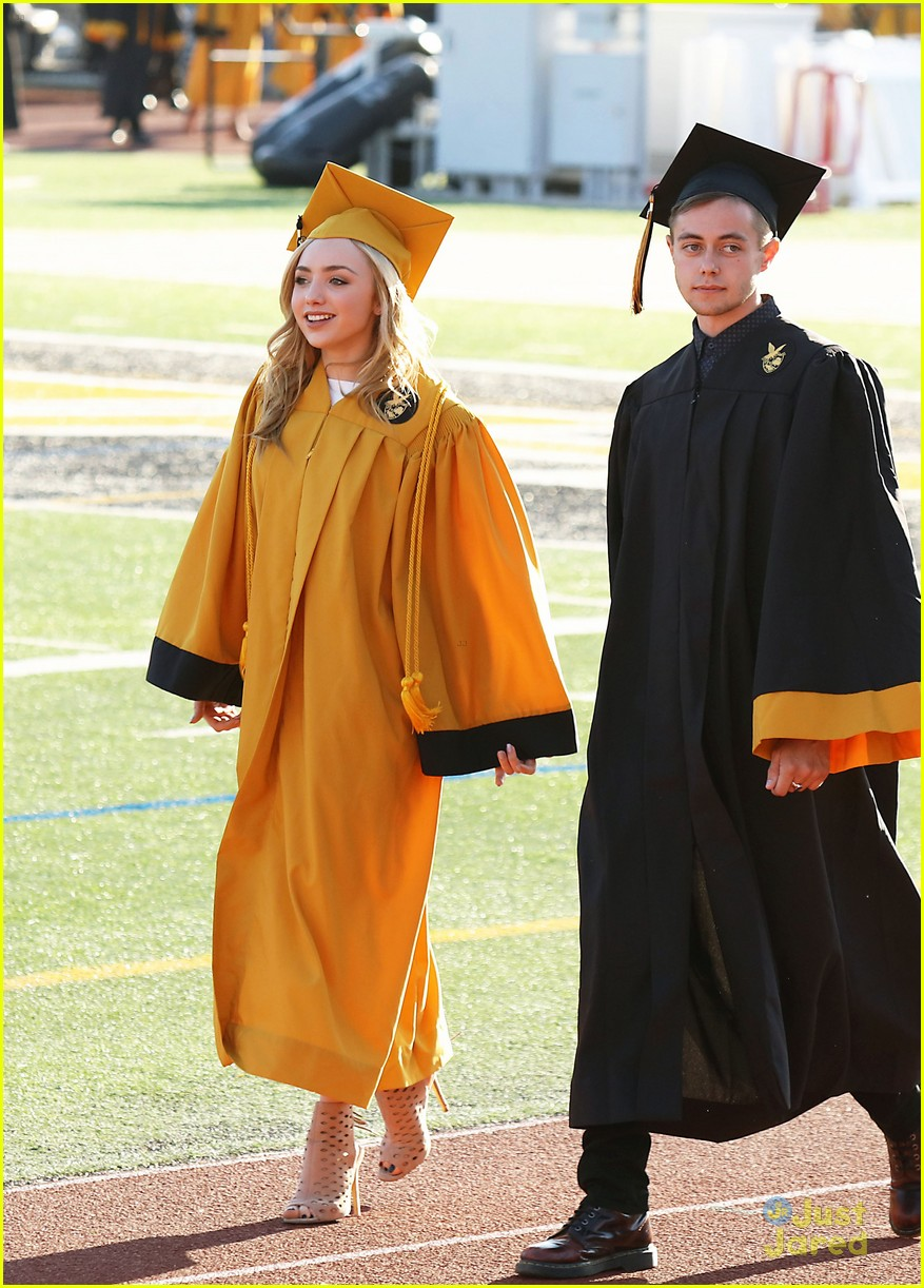 Bella Thorne Graduation