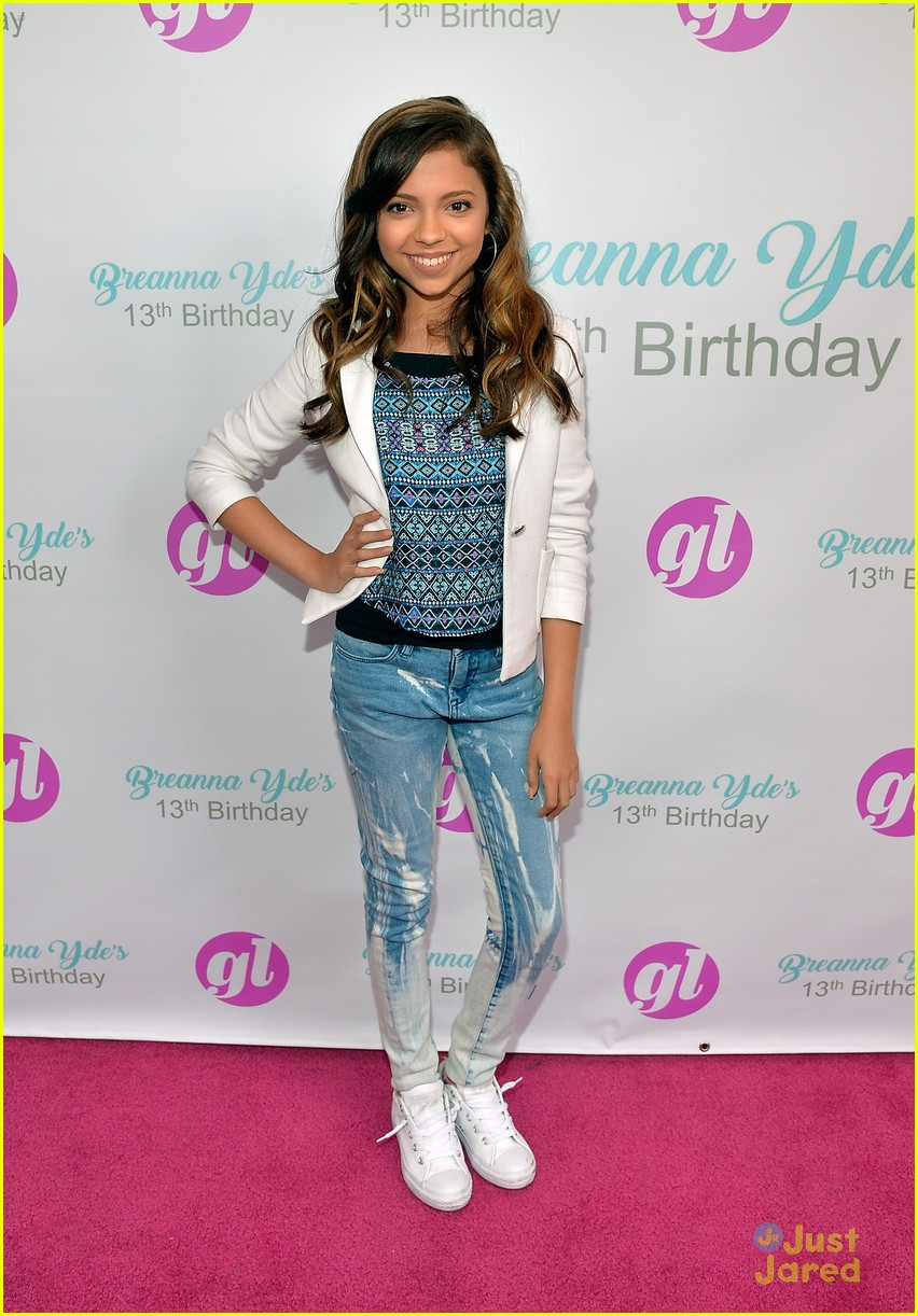 Breanna yde celebrates 13th birthday with school of rock cast breanna yde 13th party pics lvlten mag quote 01 altavistaventures Gallery