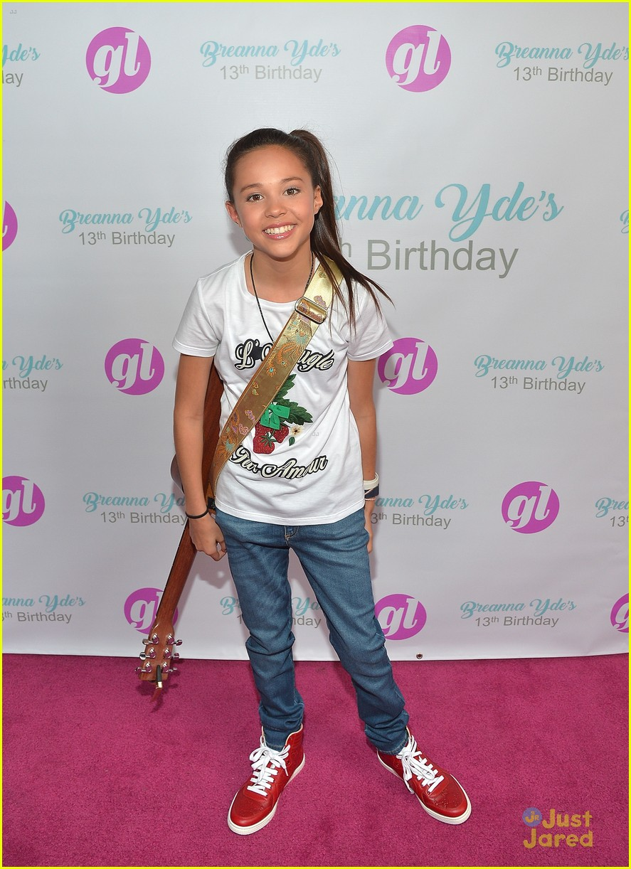 Breanna yde celebrates 13th birthday with school of rock cast breanna yde 13th party pics lvlten mag quote 07 altavistaventures Gallery