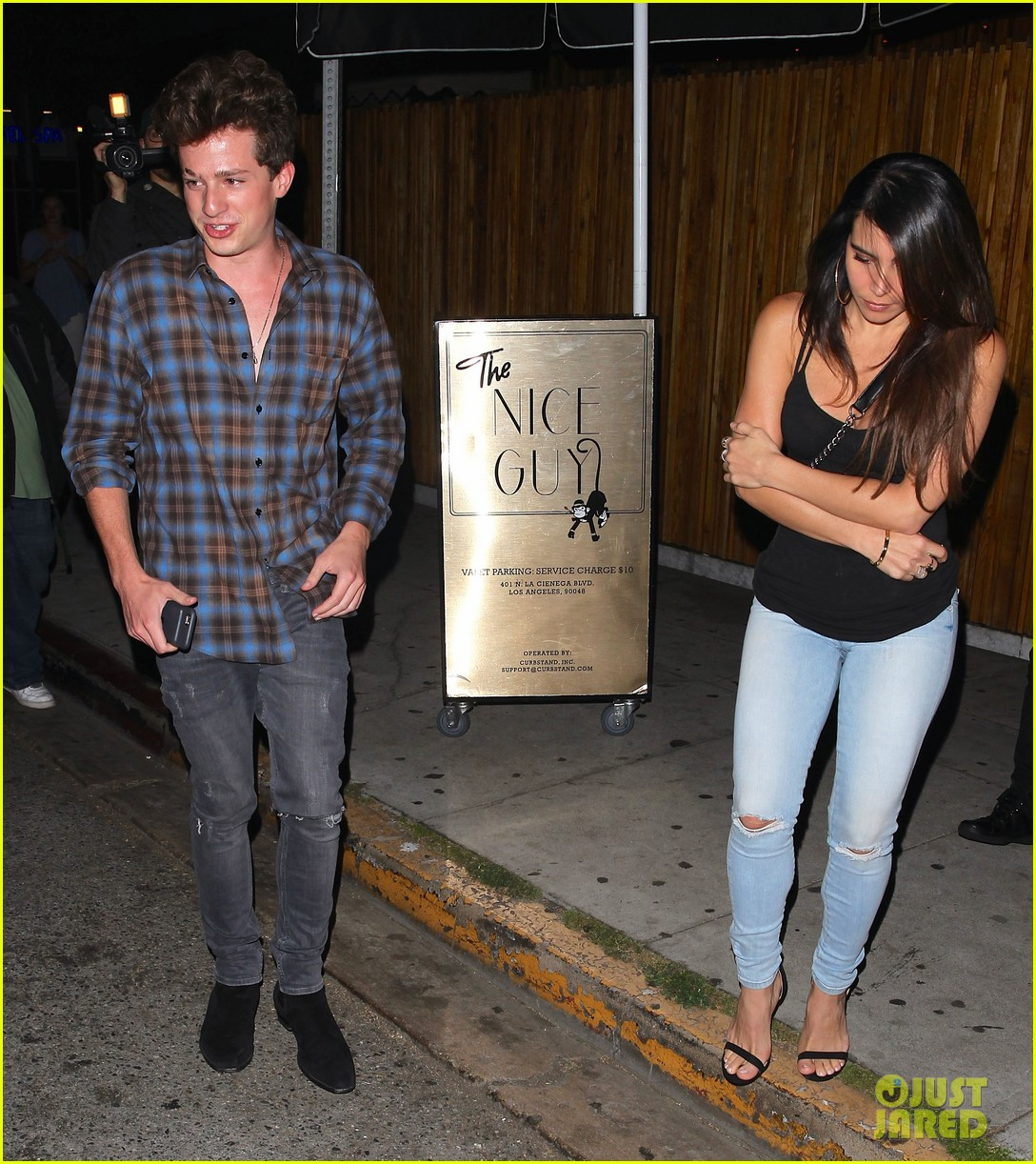 charlie puth heads to the nice guy with female friend 07